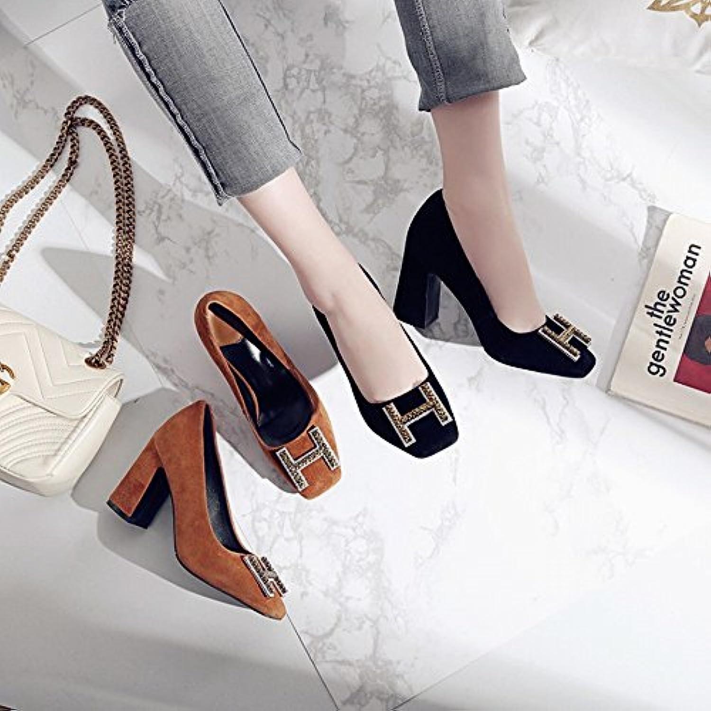 CXY Zapatos de Tacones Altos de Primavera Señoras, Segundo,39