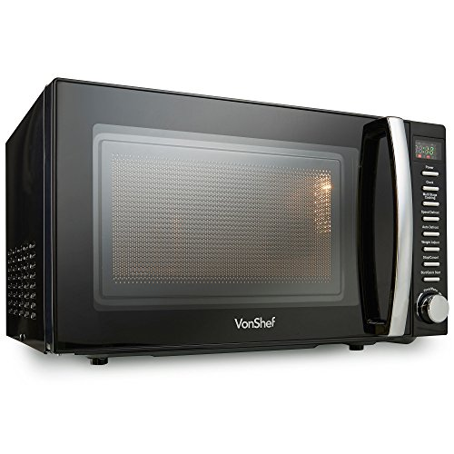 vonshef-20-litre-black-digital-microwave-800w-with-timer