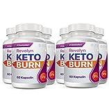 Revolyn Keto Burn - Diätpille für effektiven Gewichtsverlust | Jetzt das 6 Flaschen-Paket mit Rabatt kaufen (6 Flaschen)