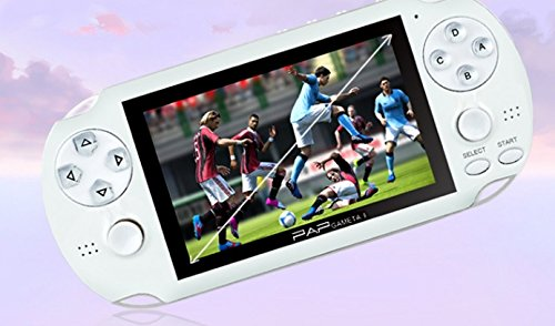 PAP Gameta II 2 Consoles de jeu portatives Portable 64 bits Mini Jeux vidéo Joueurs Support TV Out MP3 MP4 MP5 Camera Record