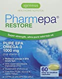 Igennus Pharmepa RESTORE – 1000 mg EPA Omega-3 Pure Fish Oil, 90% Concentration, High Potency & Maximum Absorption, for Heart Health, Mood and Brain Support – 60 Capsules