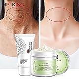Máscara de cuello para el cuello, crema, cuidado de la piel, antiarrugas, blanqueamiento hidratante, nutritivo, reafirmante para el cuello, cuidado de la piel, 180 g