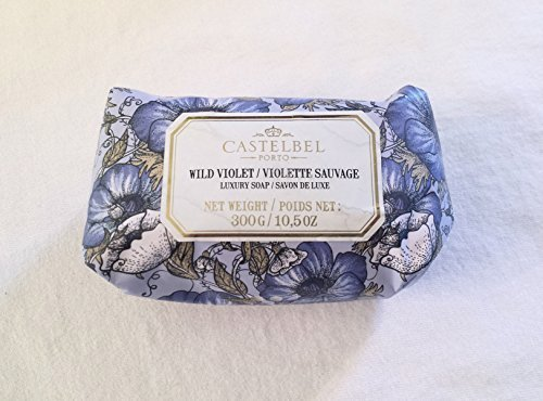 Castelbel Wild Violet Luxury Soap 10.5oz/300g by Castelbel