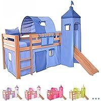 Set tenda per letto a castello includi non disponibili casa e cucina - Letto castello amazon ...