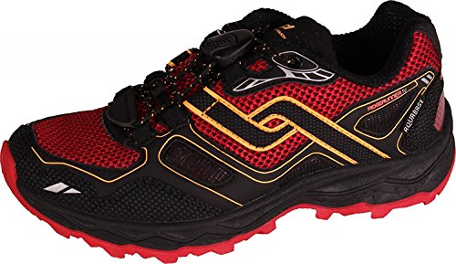 Pro Touch Trail-Run-Schuh Ridgerunner Iv Aqb Jr - schwarz/navy/gelb navy/rot/orange