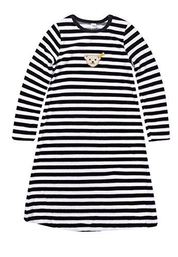 Steiff Unisex - Baby|Baby - Mädchen|Baby - Jungen Nachthemd, Gr. 116 (Herstellergröße: 6 Jahre), Blau (Marine)