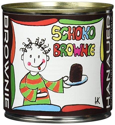 Hanauer BIO Brownie (Glutenfrei), 1er Pack (1 x 230 g) (Kuchen Schokolade)