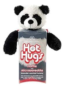 Aroma Home - Peluche Bouillotte micro onde - coussin amovible - Grand Modele - Panda