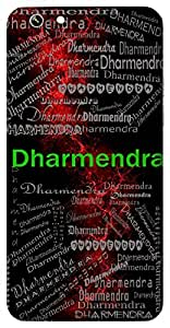 Dharmendra (King Of Religion) Name & Sign Printed All over customize & Personalized!! Protective back cover for your Smart Phone : Moto G-4-PLAY
