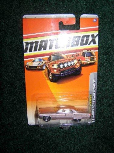 Matchbox - Cadillac Sedan Deville Rosa-metallic - Matchbox Baustelle