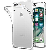iPhone 8 PLUS / 7 PLUS Hülle, Spigen® [Liquid Crystal] iPhone 8 PLUS Hülle, Dünn [Crystal Clear] Transparent TPU Silikon Schutzhülle für iPhone 7 PLUS Case / iPhone 8 PLUS Case - Crystal Clear