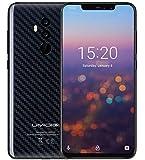 UMIDIGI Z2 PRO Android 8.1 Smartphone - Helio P60 Octa Kern 6 GB + 128 GB, 6,2 Zoll Kerbe Vollbildschirm FHD + Anzeige(19:9 Verhältnis), AI Quad Kameras (Dual 8MP + 16MP) - Kohlefaser Schwarz