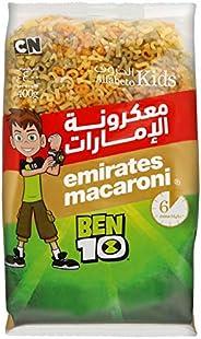 Emirates Macaroni Alfabeto Shape Tricolour Kids Pasta 400 gm