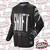 Shift Motocross Jersey - Recon Blocked Schwarz