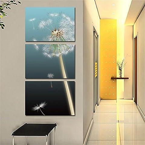 Modern Home attaccatura di parete Pitture Veranda verticali Hanging Pittura Decorativa Dandelion verticale Pittura Pittura Restaurant