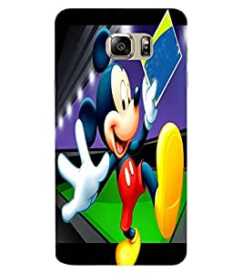 ColourCraft Lovely Cartoon Character Design Back Case Cover for SAMSUNG GALAXY NOTE 6