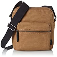 Ecco Ecco Eday 3.0 Crossbody, Men's Shoulder Bag, Beige (Desert), 8 x 25 22 cm (wxhxd)