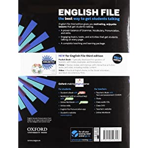 English File Pre-Intermediate. Student's Book And Workbook Without Key Pack - 3rd Edition (English File Third Edition)