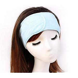 Demarkt Haarband Weiche Stirnband Einstellbare Kopfband für Waschen Make-up Spa