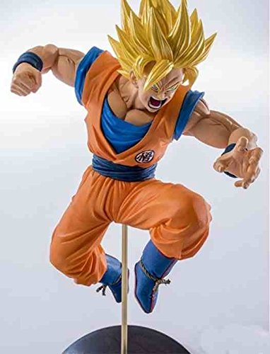 Dragon Ball Super : Super Saiyan 2 Son Goku Figurine (19cm) Banpresto Scultures Colosseum - original & licensed (Dragonball)