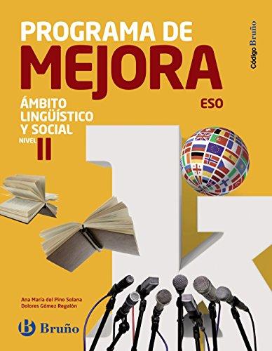 Código Bruño Programa de Mejora Ámbito Lingüístico y Social ESO Nivel II