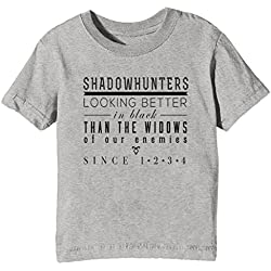 Camisa Gris para Niños Unisex