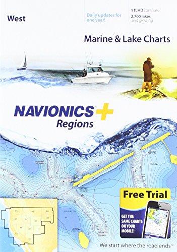 Navionics Navionics+ Regions - West - Preloaded MSD Format -