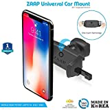 #10: ZAAP Easy Vent 3rd Generation Premium Car Mount for Android/iOS Devices (Black)