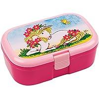 Lunchbox * EINHORN * für Kinder von Lutz Mauder // Märchen Brotdose ohne Namensdruck // Perfekt für Mädchen // Vesperdose Brotzeitbox Brotzeit (ohne Namen) preisvergleich bei kinderzimmerdekopreise.eu