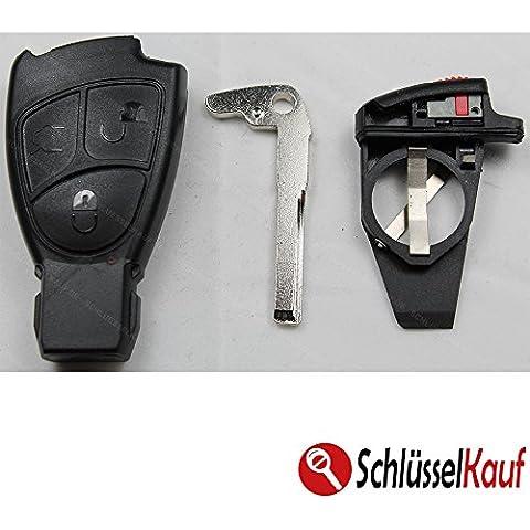 Mercedes Benz 3pulsanti chiave Set per vano
