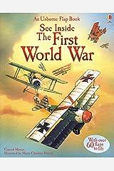 See Inside First World War (Usborne See Inside) Hardcover