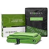 ECOdept Asciugamano Microfibra ~ Super Assorbente, Asciugatura Rapida e Antibatterico