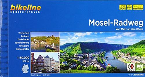 Mosel-Radweg: Von Metz an den Rhein, 1:50.000, 307 km (Bikeline Radtourenbücher)