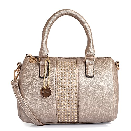 Lino Perros Women's Satchel (Golden)