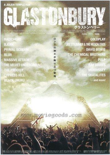 Glastonbury Plakat Movie Poster (11 x 17 Inches - 28cm x 44cm) (2006) Japanese