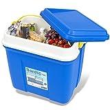 noorsk Kühlbox in verschiedenen Größen ideale Thermobox für Das Auto und zum Camping - Blau - 13 L