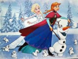 Anna,Elsa,Olaf Torten Druck Bild auf A4 -2