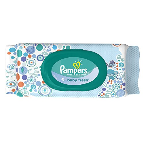 Pampers Baby Fresh Wipes 1x Travel Pack (64 Sheets)