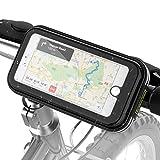 Fahrrad Handyhalterung mit, Lovicool Handyhalter Fahrrad Lenkertasche Fahrradtasche Toptrek Handy Tasche Halterung Halter Rahmentaschen Wasserdicht Stoßfest für iphone