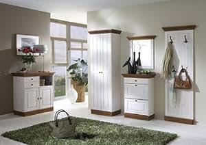 garderoben set landlust flurm bel dielen set schuhschrank garderobe massiv k che. Black Bedroom Furniture Sets. Home Design Ideas