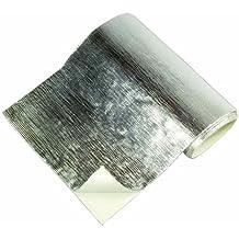 2000/°F Widersteht Temperaturen bis 1093/°C Auspuff Hitzematte Hitzeschutzmatte 61x61cm Selbstklebend Reflect-A-Cool