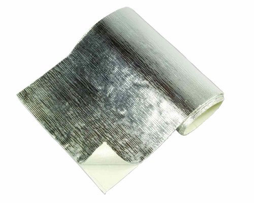 Auspuff Hitzematte Hitzeschutzmatte 30cm x 30cm Selbstklebend ( Widersteht Temperaturen bis 1093°C...