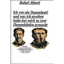 Suchergebnis Auf Amazonde Für Gedichte Rafael Alberti