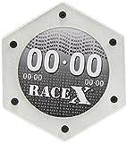 RACE X RX1014S-Portabollo per moto in alluminio