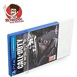 5 Stück Klarsichtschutzhüllen für Playstation 4 - PS4 Box Protector - Box - Originalverpackung - Passgenau - PS3 - Blu Ray Steelbook - Glasklar - Protector - Box - Klarsicht - Schuber