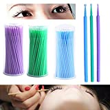 Best Individual Lashes - NESA 100Pcs/Pack Hot Lint Disposable Makeup Brushes Individual Review