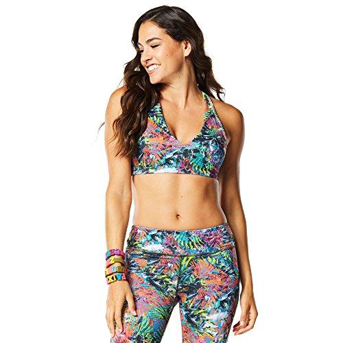 Zumba Fitness Damen Rio Sizzle Bra Shocking Pink, XS