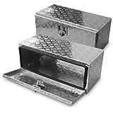 70l Alu Unterbaubox für PKW Anhänger oder LKW Nutzfahrzeuge, Staubox, Werkzeugkiste, Gurtkiste, Alukiste, Kiste