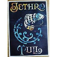 Poster Jethro Tull Catfish Rising Format 62 x 86 cm