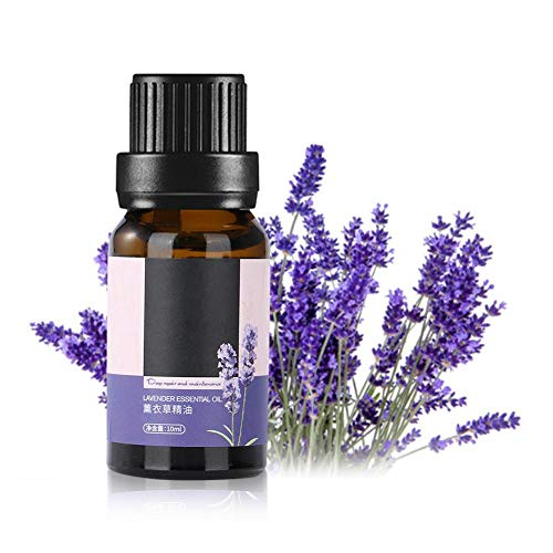 Lavendelöl - reine und natürliche Pflanzenextrakte von erstklassiger Aromatherapie-Massagetherapie, Entspannung, perfekter Schlaf, Hautpflege 10 ml